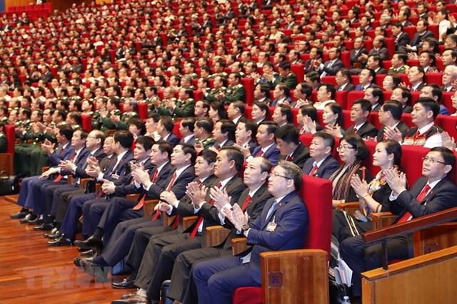 [ẢNH] Hình ảnh lễ khai mạc trọng thể Đại hội lần thứ XIII Đảng - Ảnh 6