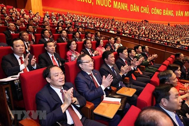 [ẢNH] Hình ảnh lễ khai mạc trọng thể Đại hội lần thứ XIII Đảng - Ảnh 7