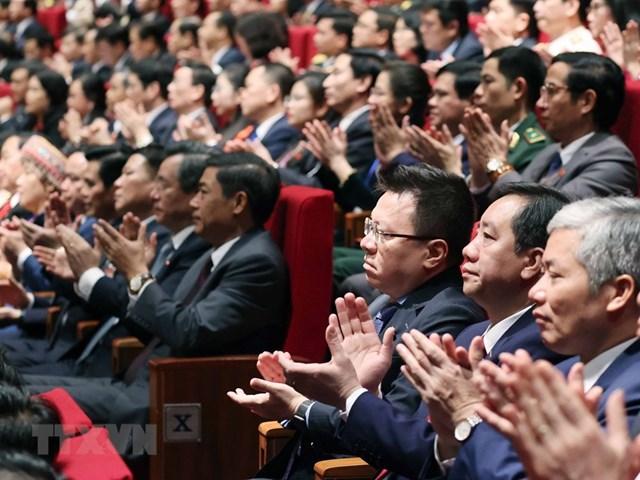 [ẢNH] Hình ảnh lễ khai mạc trọng thể Đại hội lần thứ XIII Đảng - Ảnh 8
