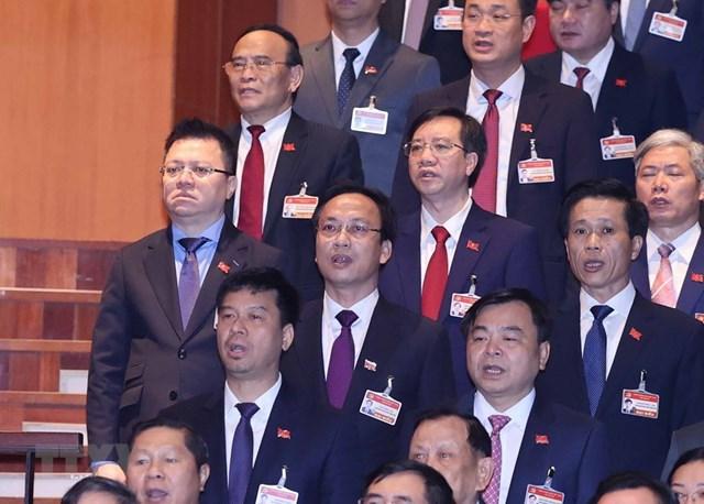 [ẢNH] Hình ảnh lễ khai mạc trọng thể Đại hội lần thứ XIII Đảng - Ảnh 10