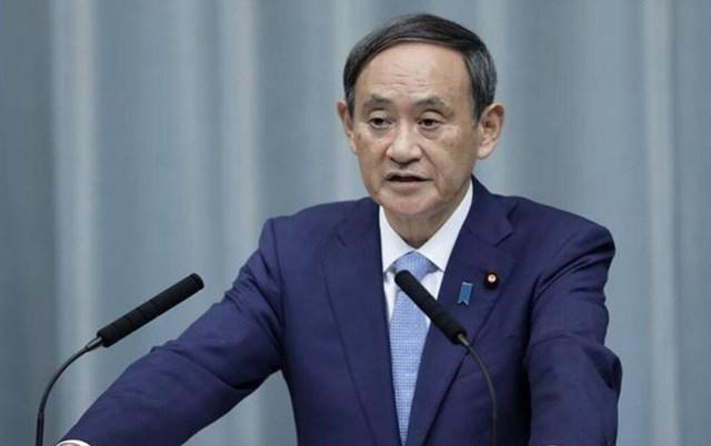 Thủ tướng Nhật Bản Yoshihide Suga Ảnh: Getty.