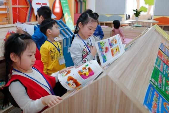 Khánh thành 'Thư viện những ước mơ' cho độc giả nhí Hà Nội - Ảnh 1