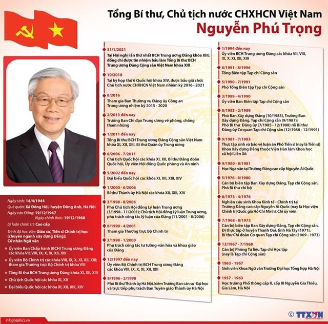 Tiểu sử Tổng Bí thư, Chủ tịch nước CHXHCN Việt Nam Nguyễn Phú Trọng - Ảnh 1