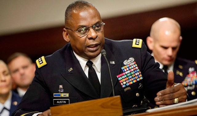 Tân Bộ trưởng Quốc phòng Mỹ Lloyd Austin. Ảnh: AFP.