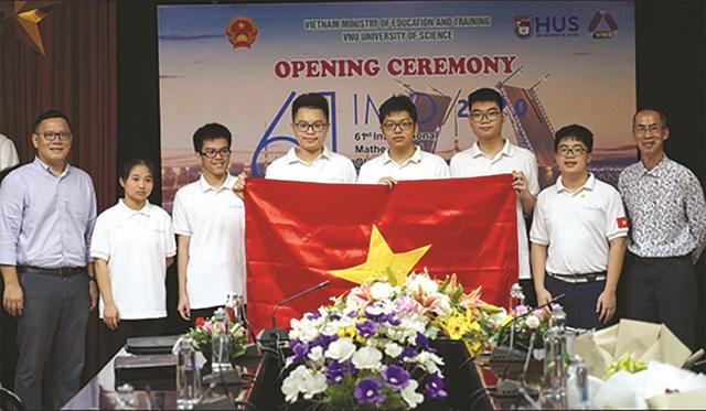 4 thí sinh của đội tuyển Việt Nam thi Olympic Hóa học quốc tế năm 2020 đều giành HCV.