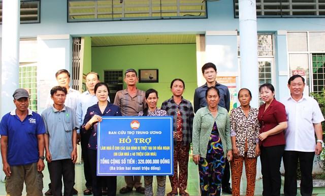MTTQ tỉnh An Giang: Điểm nhấn trong công tác chăm lo cho an sinh xã hội - Ảnh 1