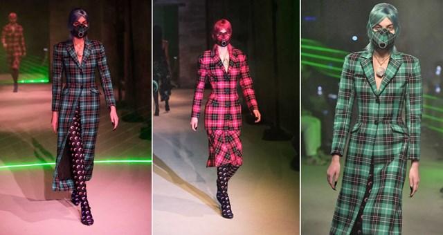 Nhà thiết kế người Pháp đã đưa những chiếc mặt nạ vào bộ sưu tập Ready to Wear của cô.