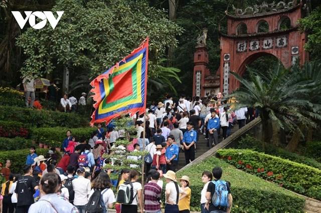 Đây là năm thứ hai, Lễ Giỗ Tổ Hùng Vương chỉ tổ chức phần lễ, không tổ chức phần hội.