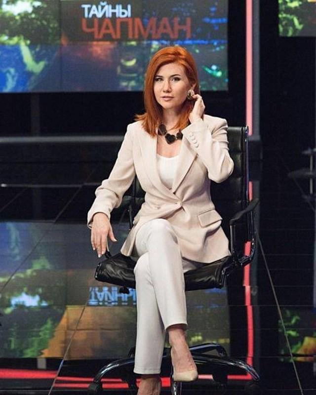 """Nhân vật chính của vụ """"bê bối gián điệp"""" Anna Chapman; Nguồn: topwar.ru."""