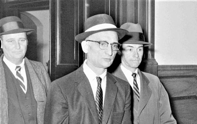 Sĩ quan tình báo Liên Xô Rudolf Abel (giữa); Nguồn: topwar.ru.