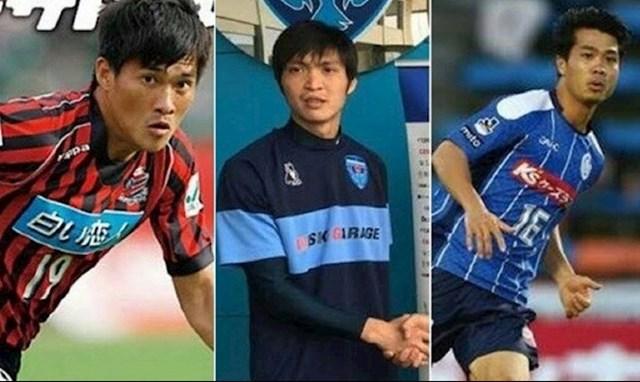 Một số cầu thủ từng xuất ngoại.