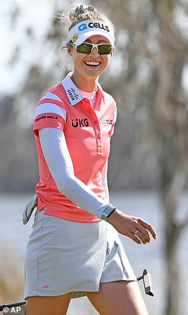 Tuy nhiên, Gainbridge LPGA mới là giải đấu của Nelly Korda khi cô thăng hoa ở các vòng đấu.