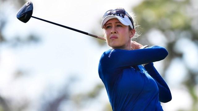 Cô đã cán đích ở vòng đấu cuối với tổng điểm chung cuộc là -16, hơn 3 gậy so với đối thủ về nhì là Lexi Thompson.