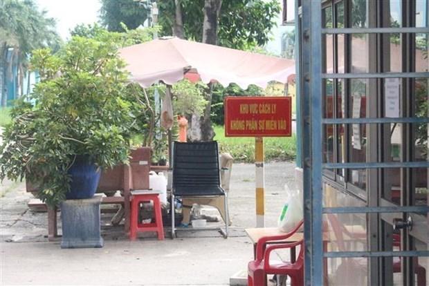 Khu cách ly đoàn tiếp viên Vietnam Airlines. Ảnh: Đinh Hằng/TTXVN.