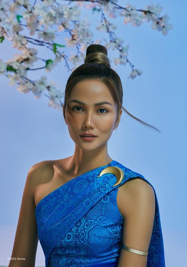 Hoa hậu H' Hen Niê hoá thân thành 'Raya' - nàng công chúa mới nhất của Disney - Ảnh 1