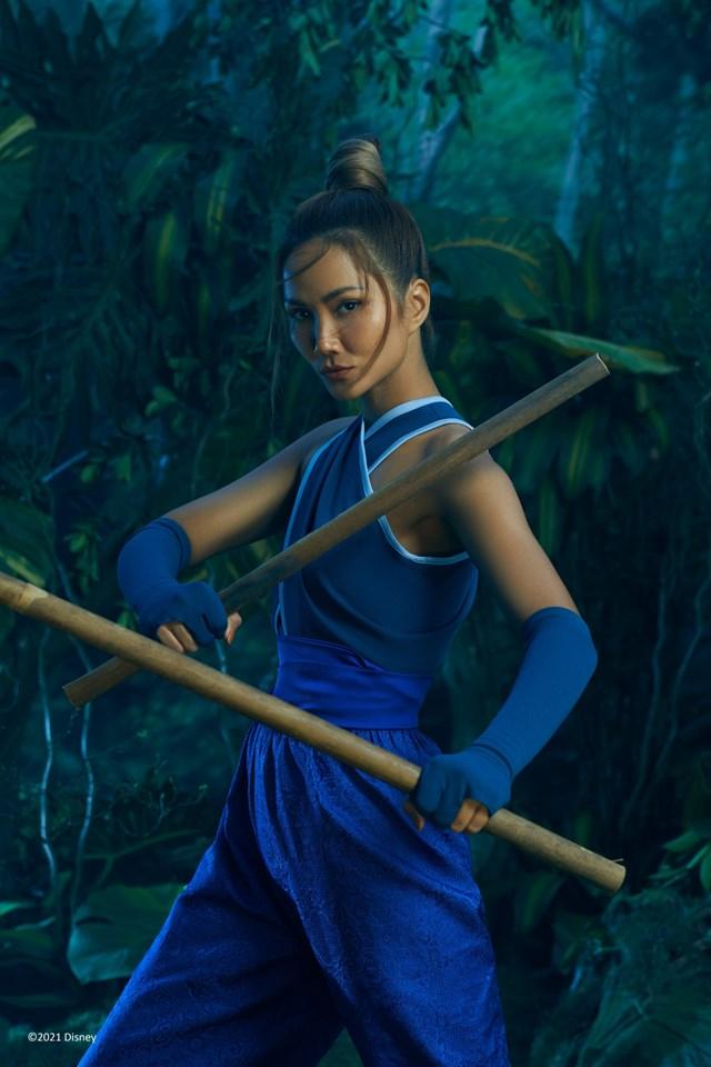 Hoa hậu H' Hen Niê hoá thân thành 'Raya' - nàng công chúa mới nhất của Disney - Ảnh 2
