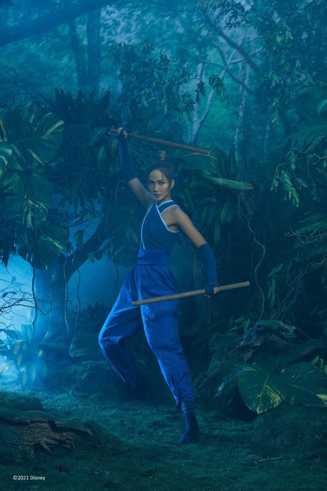 Hoa hậu H' Hen Niê hoá thân thành 'Raya' - nàng công chúa mới nhất của Disney - Ảnh 3