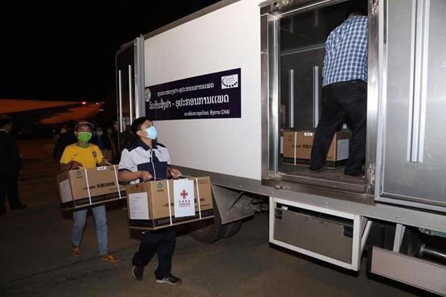 Lào: Bắt đầu tiêm chủng vaccine Covid-19 từ ngày 5/3 - Ảnh 1