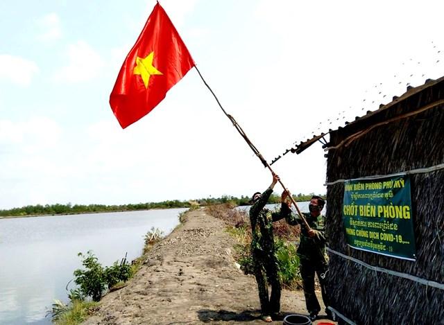 Điểm chốt của lực lượng BĐBP tỉnh Kiên Giang.