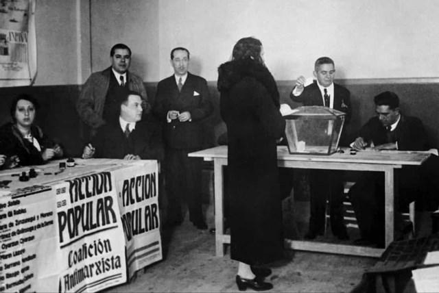 Phụ nữ được trao quyền bầu cử ở Tây Ban Nha vào năm 1931.