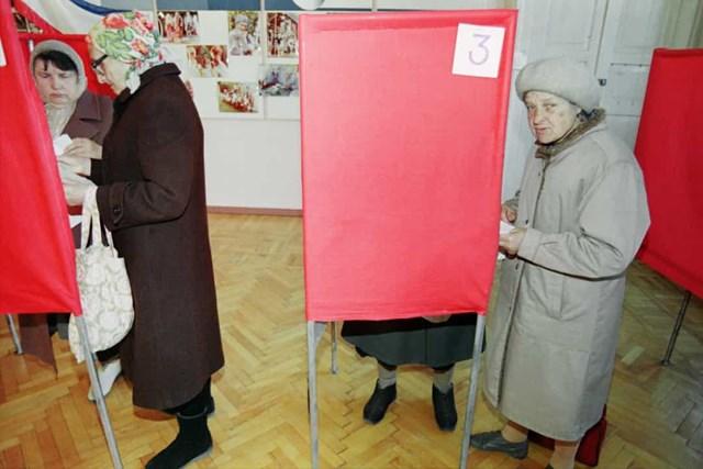 Phụ nữ được trao quyền bầu cử ở Ukraine vào năm 1919.