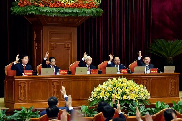 Trung ương biểu quyết thông qua chương trình Hội nghị Trung ương 2, khóa XIII.