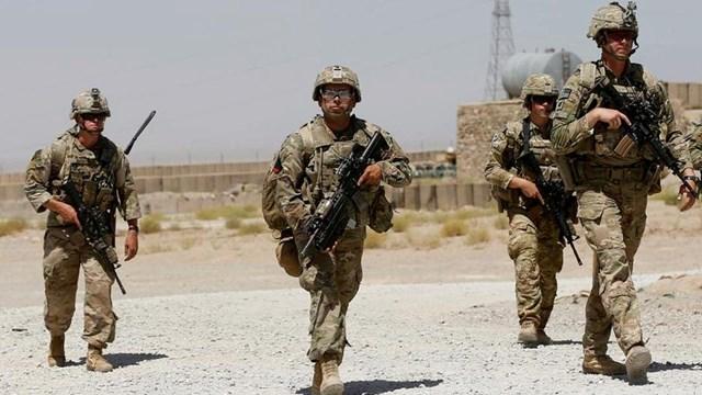 Binh lính Mỹ tuần tra tại Afghanistan. Ảnh: Reuters.