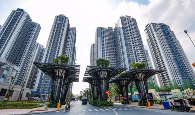 Dự án Gold Mark City số 136 Hồ Tùng Mậu, quận Bắc Từ Liêm, Hà Nội.