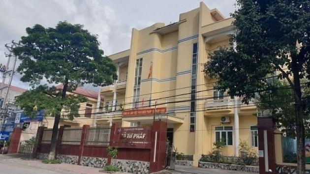 Trụ sở Sở Tư pháp tỉnh Điện Biên.