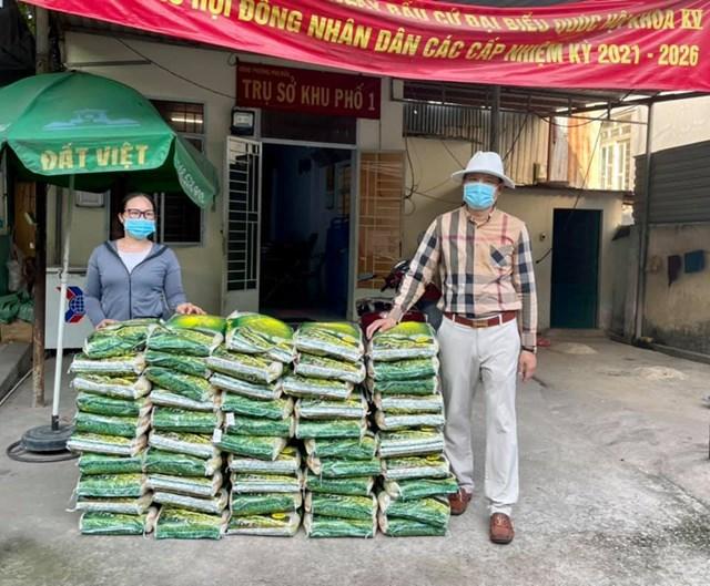 Doanh nhân Trần Văn Toàn thường xuyên tham gia các hoạt động thiện nguyện.