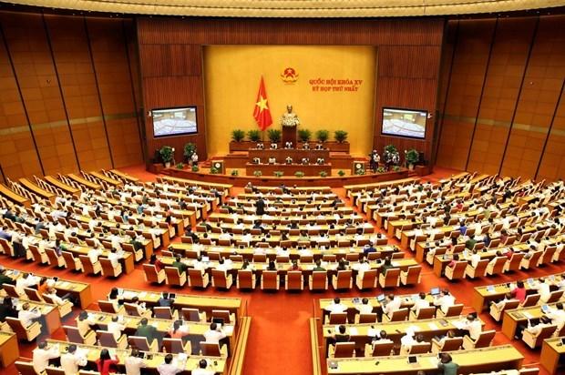 Quang cảnh phiên họp chiều 25/7. Ảnh: Phạm Kiên/TTXVN.