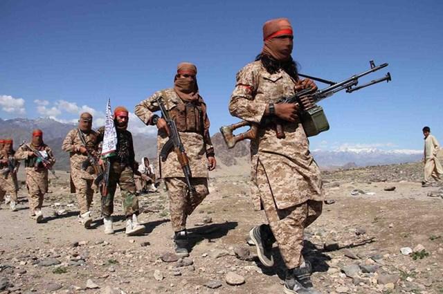 Các tay súng Taliban liên tục mở rộng địa bàn kiểm soát tại Afghanistan. Ảnh: AFP.