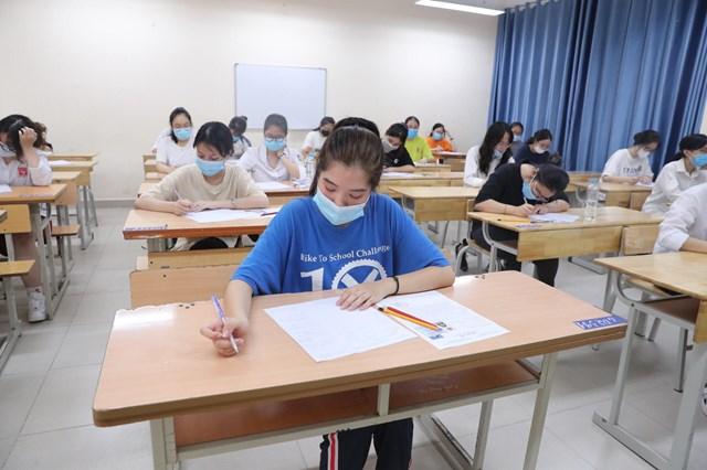 Số lượng các đơn vị tự đảm bảo chi đầu tư và chi thường xuyên lĩnh vực giáo dục còn ít. Ảnh: Phạm Quang Vinh.