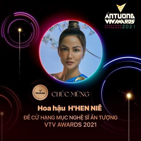 Hoa hậu H'Hen Niê được đề cử Nghệ sĩ ấn tượng 2021 - Ảnh 1