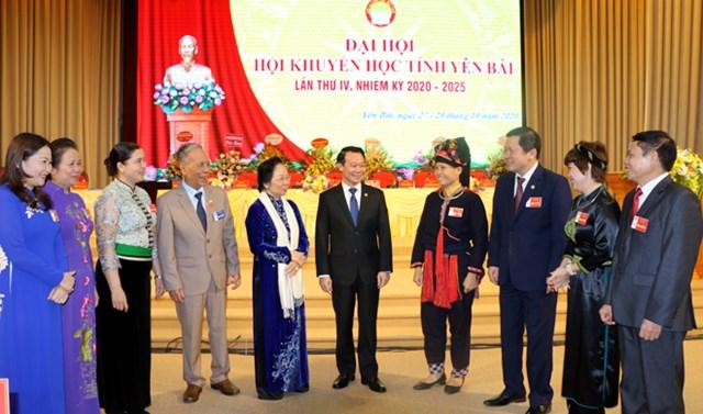 Bà Nguyễn Thị Doan và các đại biểu dự Đại hội.