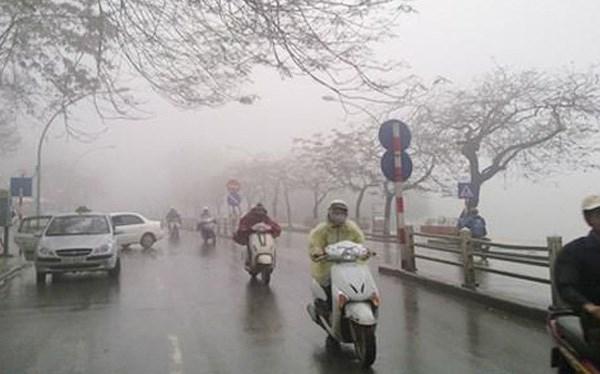 Bắc Bộ trở lạnh, mưa lớn từ Thanh Hóa đến Quảng Bình - Ảnh 1