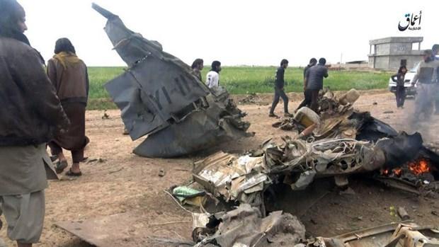 Hiện trường vụ rơi máy bay Cessna Caravan tại Iraq. Nguồn: airsoc.com.