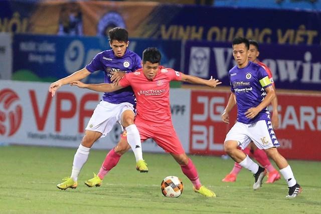 Hà Nội FC quyết đòi nợ Sài Gòn FC.