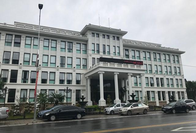 Trụ sở Công ty cổ phần cấp nước Phú Thọ.