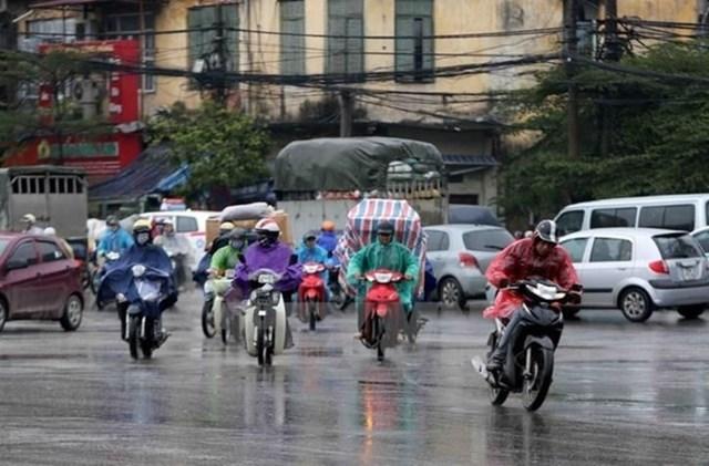 Không khí lạnh tăng cường, Trung và Nam Bộ có mưa dông - Ảnh 1