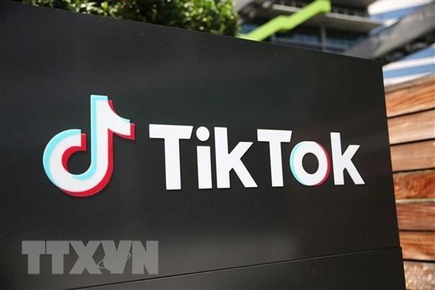 Biểu tượng TikTok. Nguồn: TTXVN.