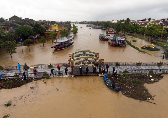 Mưa lũ thời gian qua đã gây hiệt hại nặng nề tại Quảng Nam.