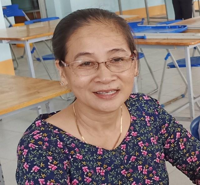 Cô giáo Trần Thị Kim Dung nay đã 52 tuổi.