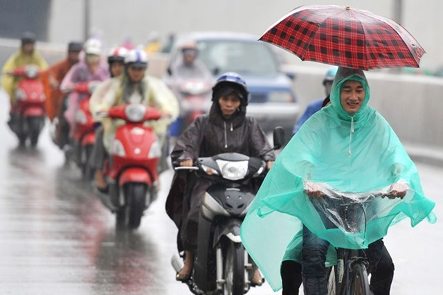 Bắc Bộ tiếp tục có mưa, trời lạnh - Ảnh 1