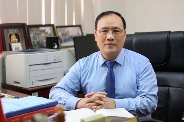 GS.TSKH Nguyễn Đình Đức, Trưởng ban Đào tạo Đại học Quốc gia Hà Nội.