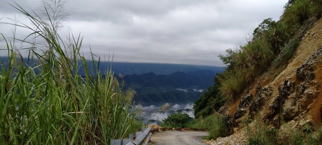 Đỉnh Cao Sơn với độ cao gần 1.500m so với mực nước biển.