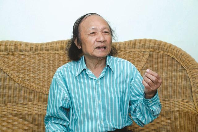 Nhạc sĩ Đoàn Bổng. Ảnh:Quang Vinh.