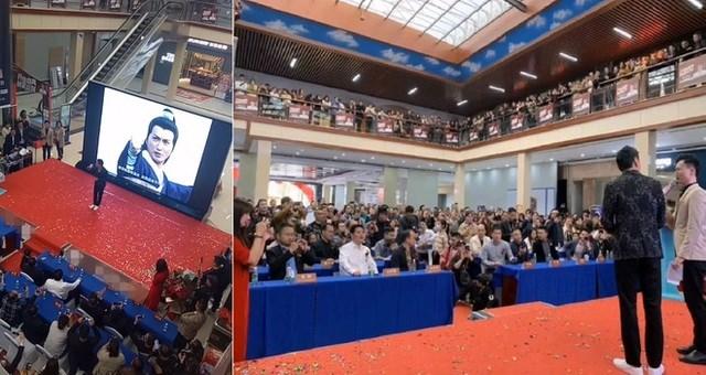 Dù không còn đóng phim và thỉnh thoảng mới góp mặt trong các sự kiện nhưng Hà Gia Kính vẫn có một lượng fan không nhỏ. Đây là hình ảnh tại một sự kiện mà Hà Gia Kính tham gia hồi tháng 10/2020.