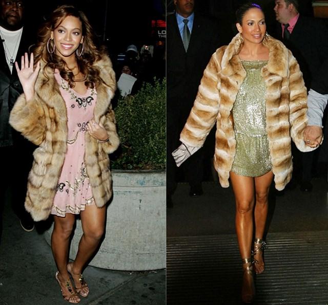 Những lần Jennifer Lopez và Beyonce mặc giống nhau - Ảnh 5
