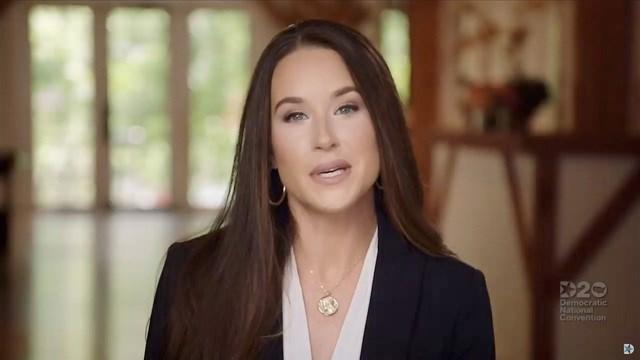 Ashley Biden trong đoạn video vận động tranh cử cho cha. Ảnh: Youtube.